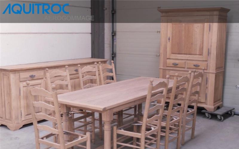 sablage aerogommage bois meuble gironde 33